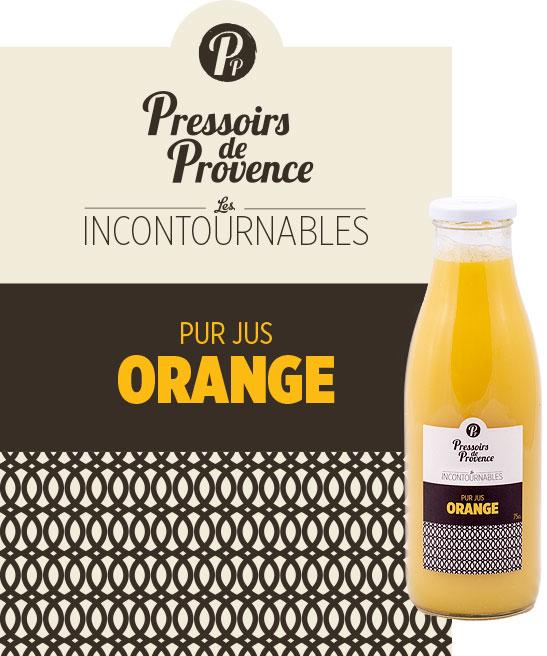 incontournables pur jus orange artisanale - pressoirs de provence