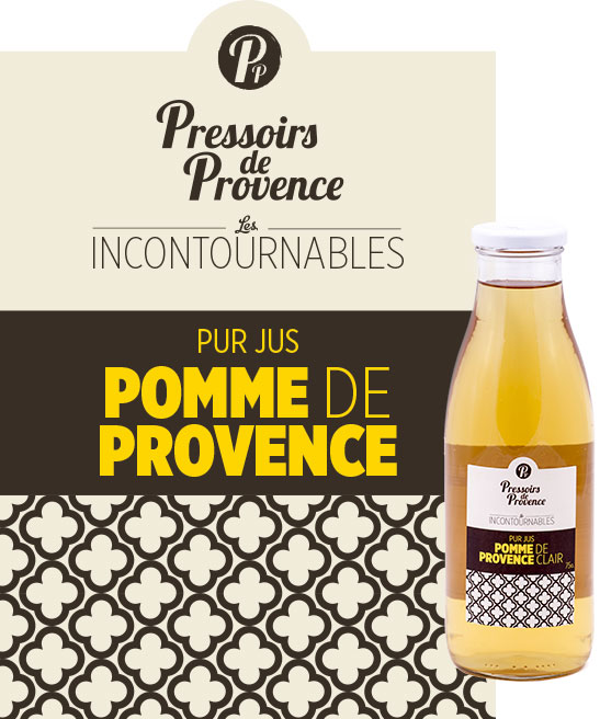 incontournables pur jus de pomme de provence artisanale - pressoirs de provence