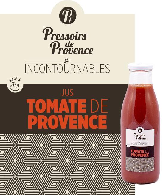 incontournables jus de tomate de provence artisanale - pressoirs de provence